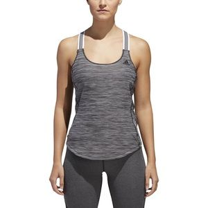 Adidas Performer 3 Stripes Tank Top Large